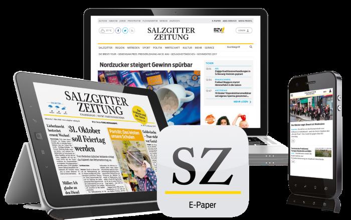 Das Digital-Paket der Salzgitter-Zeitung.